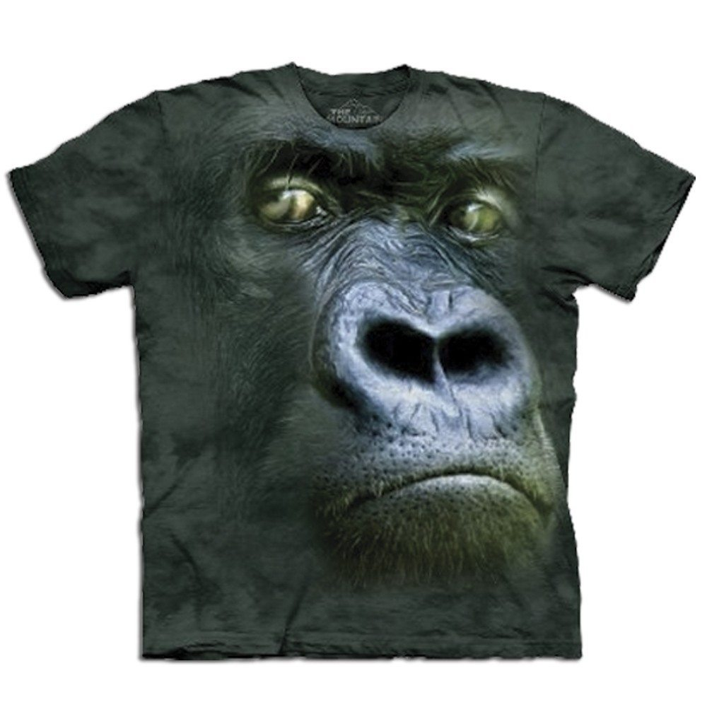 T-shirt Gros plan Animal - Gorille