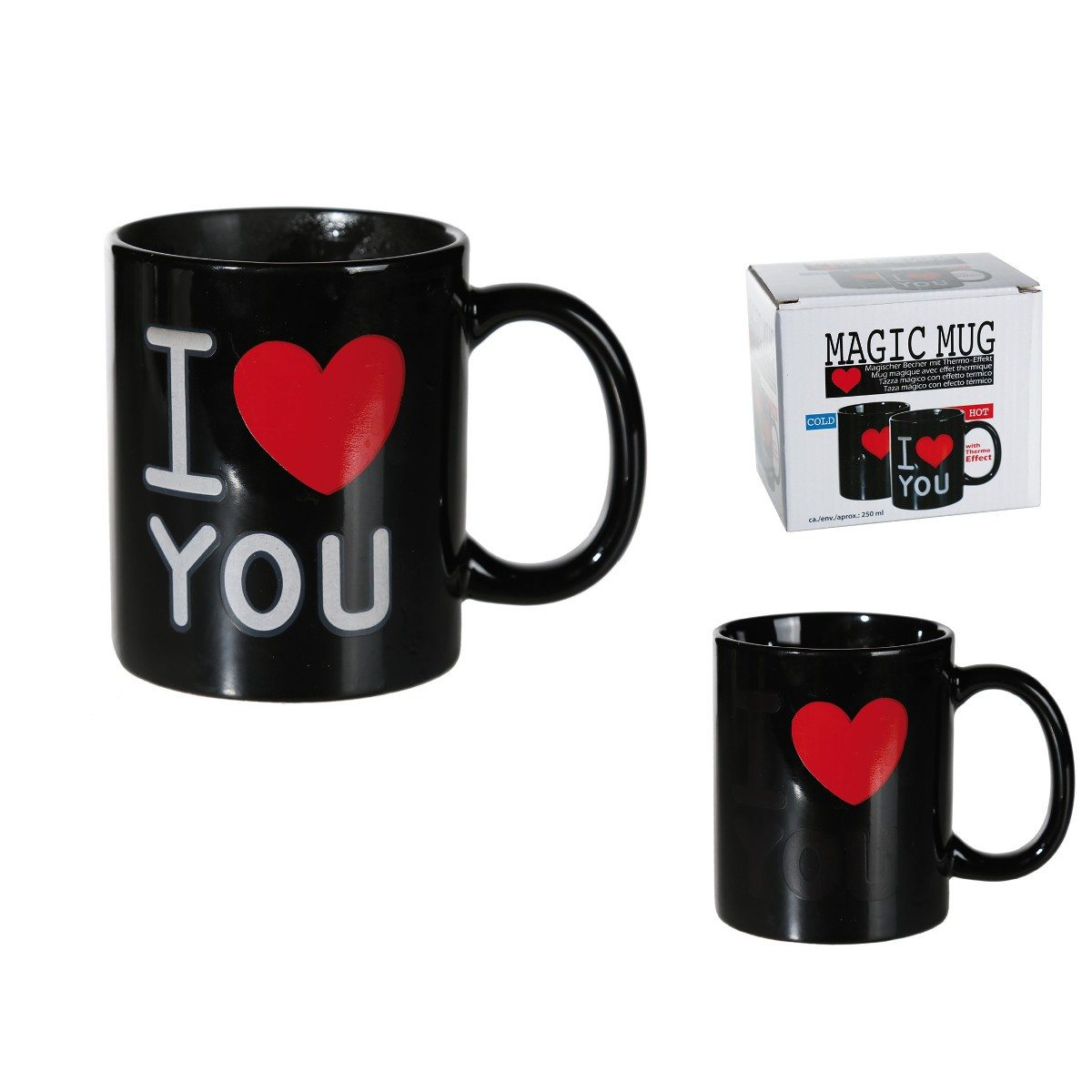 Tasse magique - I love you