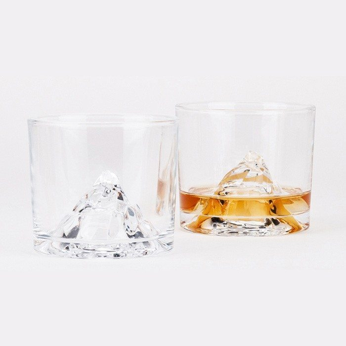 Whiskey on the rocks - verre en cristal