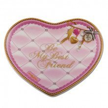 Assiette design en forme de coeur - Best Friend