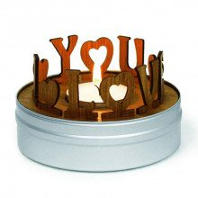 Bougie « I love you »