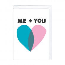 Carte rigolote – Me and you
