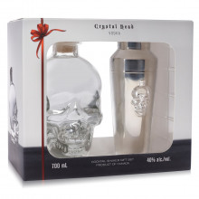 Coffret Crystal Head Vodka & Shaker