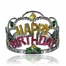 Couronne d'anniversaire «Happy Birthday»