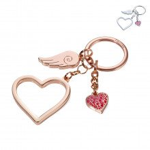 Porte-clé dicton « LOVE IS IN THE AIR »