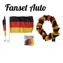 Kit auto supporter de football (Allemagne)
