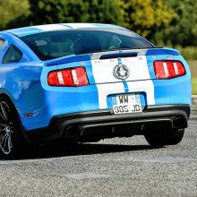 Photo mustang couverture