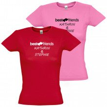 T-Shirt Femme - Best friends