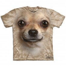 T-shirt Gros plan Animal - Chihuahua