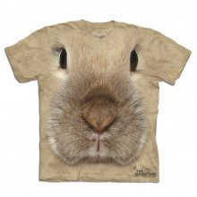 T-shirt Gros plan Animal - Lapin