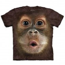 T-shirt Gros plan Animal - Orang-outan