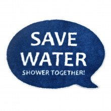Tapis de bain : Save Water, Shower Together!