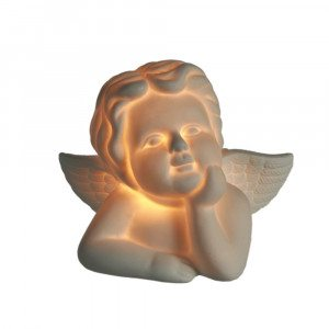 Ange en porcelaine luminscent