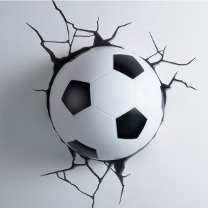 Applique 3D - Football