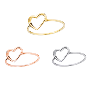 Bague en or - Pure Heart