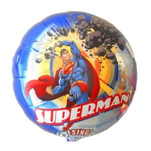 Ballon chantant à hélium - Superman