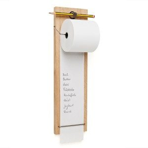 Bloc-notes original en bois