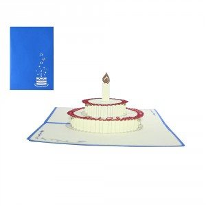 Carte Pop-up 3D - Anniversaire