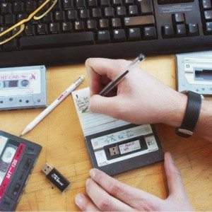Cassette clef USB