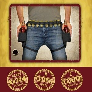 Ceinture de cow-boy à shooters