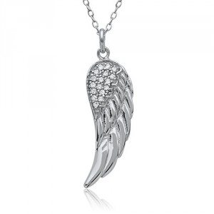 Collier avec zirconium – Angel