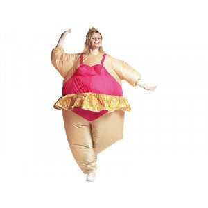 Costume gonflable - ballerine