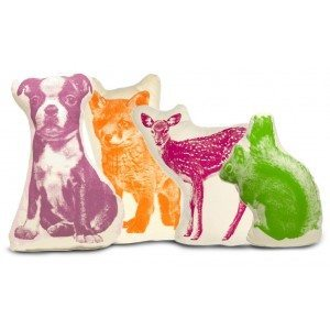 Coussins Animaux Areaware