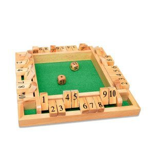 Jeu de dés - Shut the Box