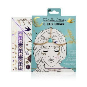 Kit Fashion - tatouages et couronne - package