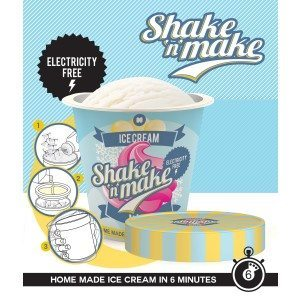 Machine à glace minute Shake & Make : Secouez et dégustez !