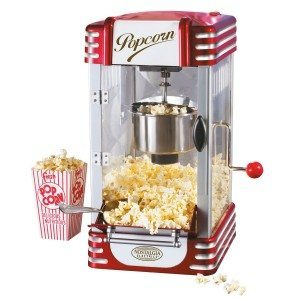 Machine à pop-corn Retro Deluxe
