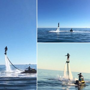 Montage flyboard