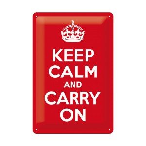 Panneau - Keep calm and carry on