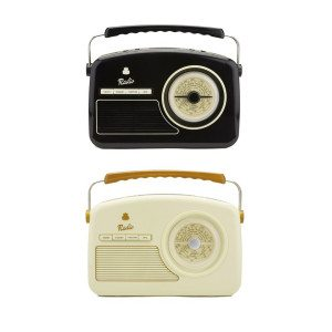 Radio-réveil vintage 50's - presentation versions