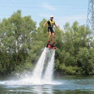Session de flyboard près de Paris