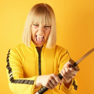 Shooting self esteem kill bill