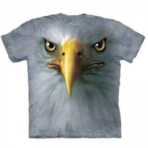 T-shirt Gros plan Animal - Aigle