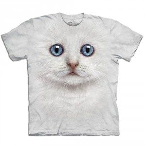 T-shirt Gros plan Animal - Chat