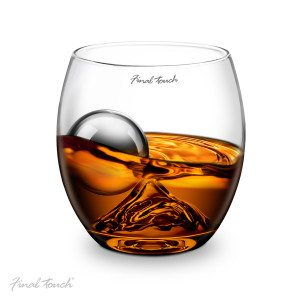 Verre à whisky - On the rocks exemple