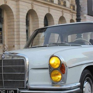 Visite de Paris en Mercedes 280 SE – Paris insolite 1h