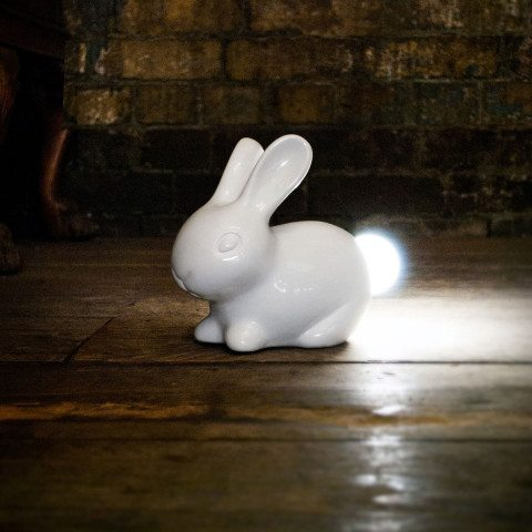 Lampe à poser lapin