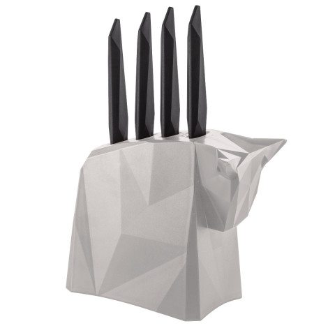 Set couteaux et support - Origami style