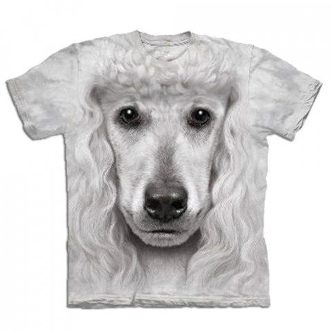 T-shirt Gros plan Animal - Caniche