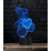 Lampe 3D Teddy-Coeur - article