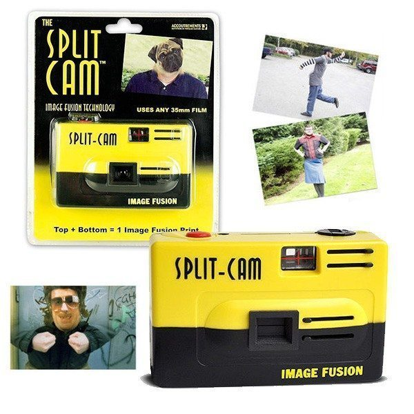 Appareil photo Split-Cam
